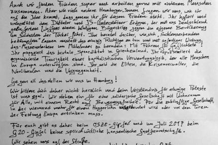 Brief an Frank-Walter Steinmeier gegen OSZE-Treffen